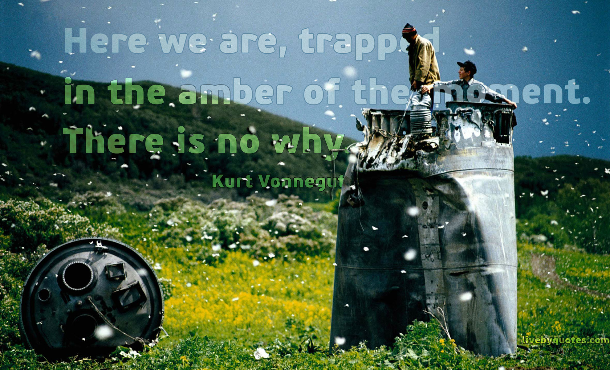 Kurt Vonnegut quotation